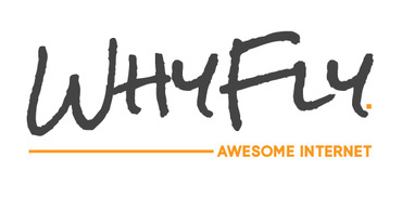 Why Fly Awesome Internet Logo