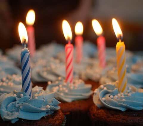 Birthday cake in Downtown Wilmington, DE near Rodney Square apartments