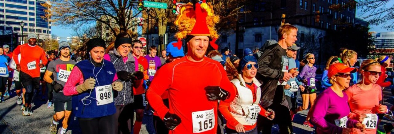 Thanksgiving Day MS Run in Wilmington