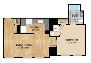 floorplans for Wilmington, DE apartments