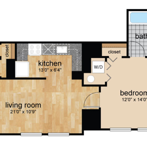 floorplans for Wilmington, DE apartments