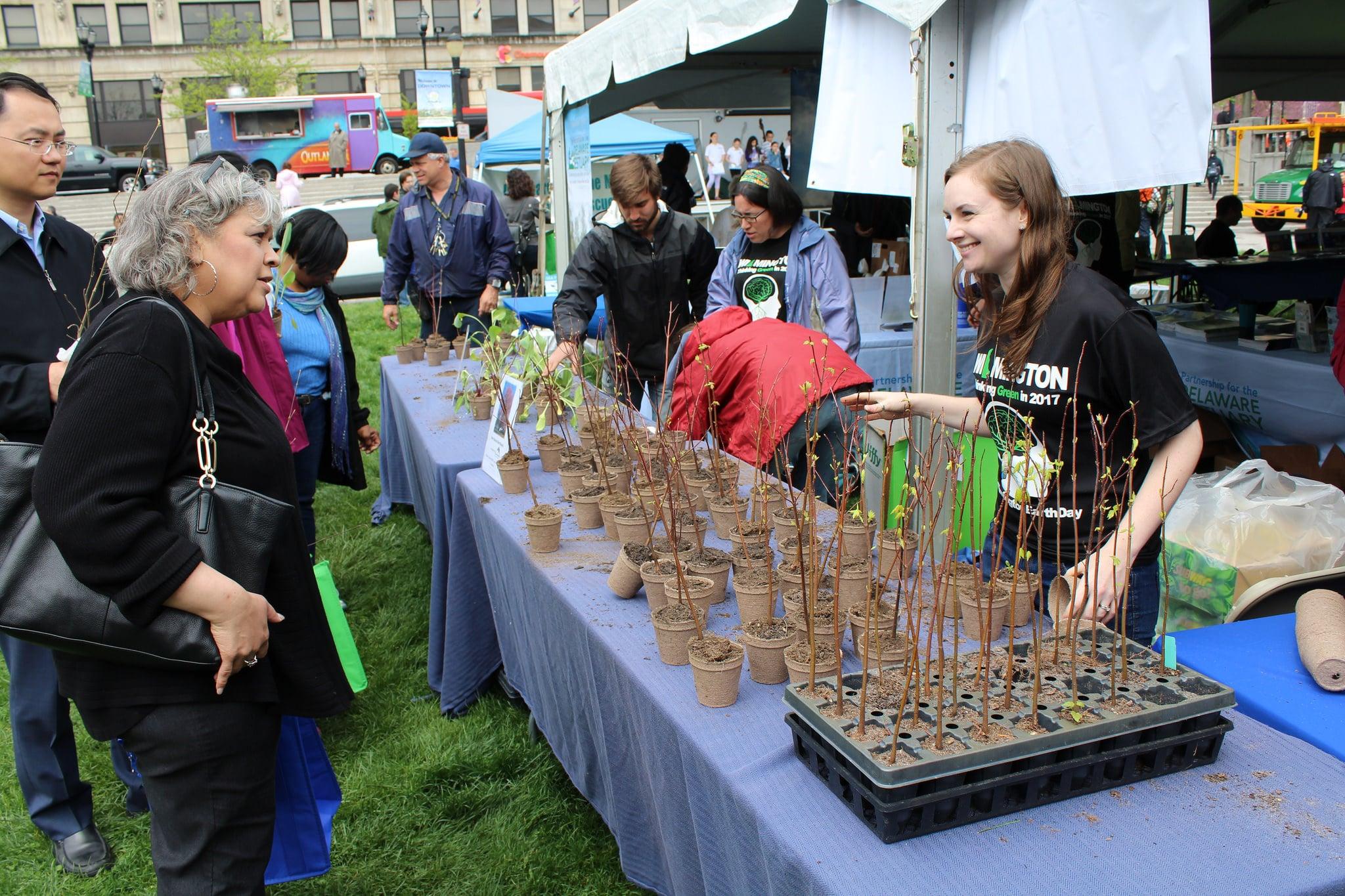 Rodney Square Earth Day Celebration