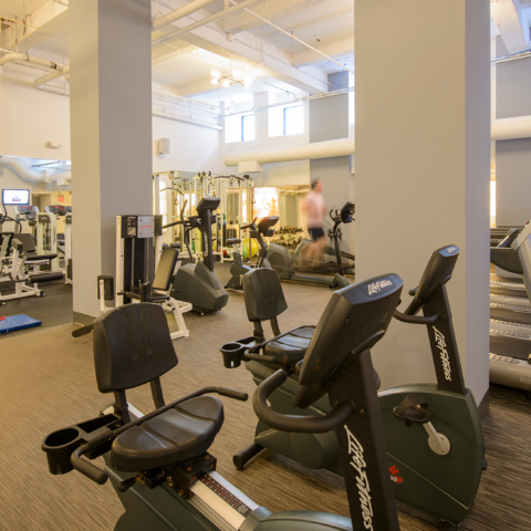 Fitness Center of apartment in Wilmington, DE