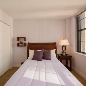 Bedroom in an apartment in Wilmington, DE