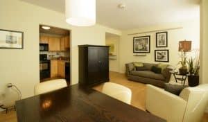 living room in an apartment in Wilmington, DE