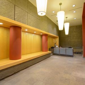 Lobby of apartment in Wilmington, DE