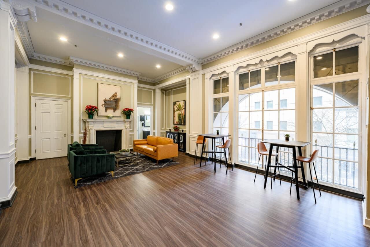 Resident Lounge Residences at Rodney Square